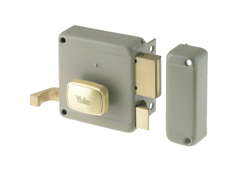 62000 - Rim lock with knob
