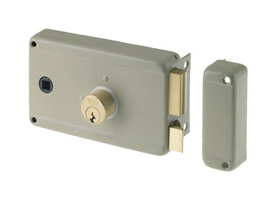 63060 - Rim lock with square spindle