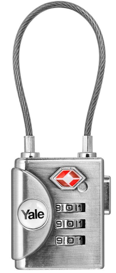 YTP3/32/350/1 - TSA Soft Shackle Combination Padlock