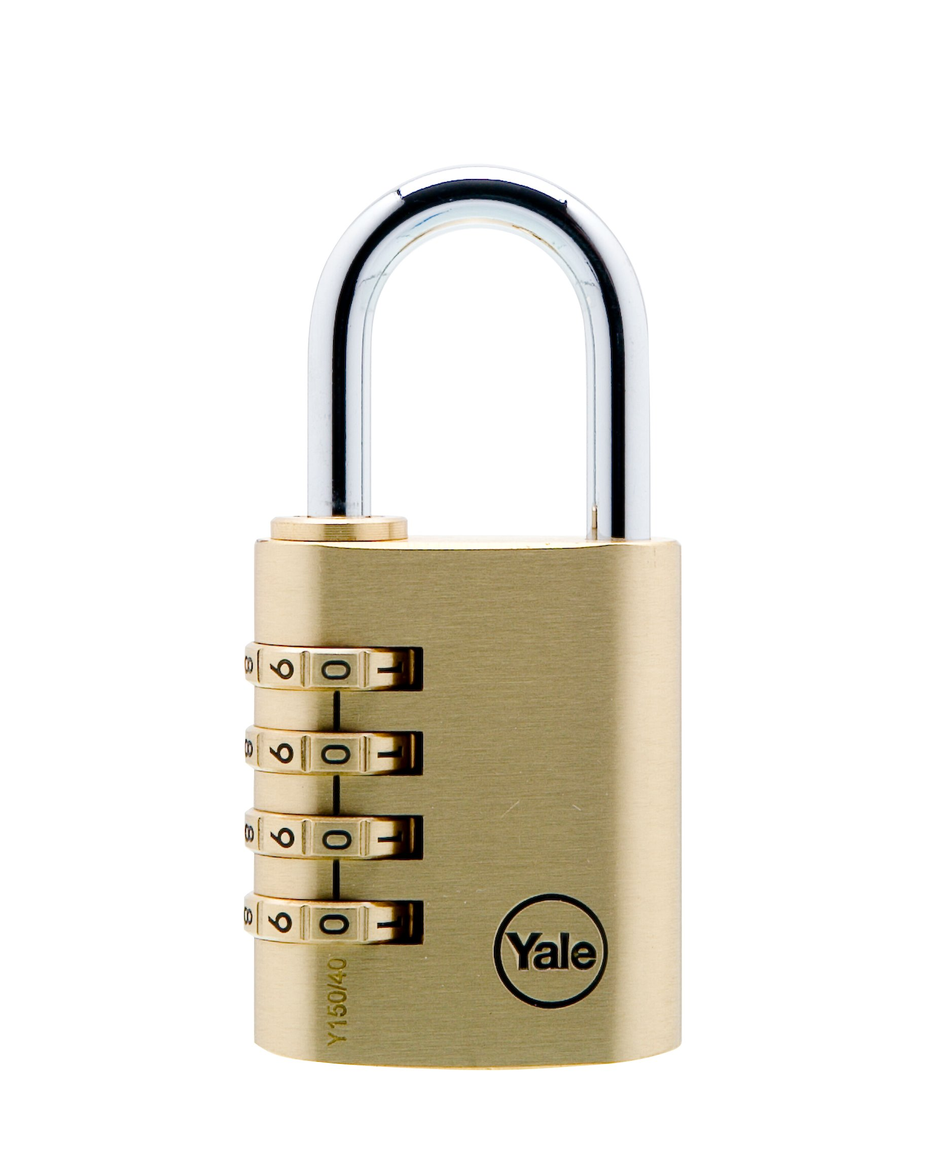 Yale Y150//40//130//1 Candado de Seguridad de Combinaci/ón 40 mm