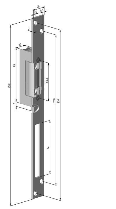 YB37-12D-LR z mikroprzełącznikiem