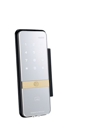 Shine Ydg313 Rfid Lock For Glass Doors Digital Door Lock