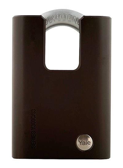 Y300C/63/127 - Yale Black Series Hardened Steel Closed Shackle Padlock (Molybdenum Shackle)