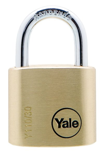 Y110/30/117 - Yale Classic Series Outdoor Solid Brass Padlock 30mm with Multi-pack