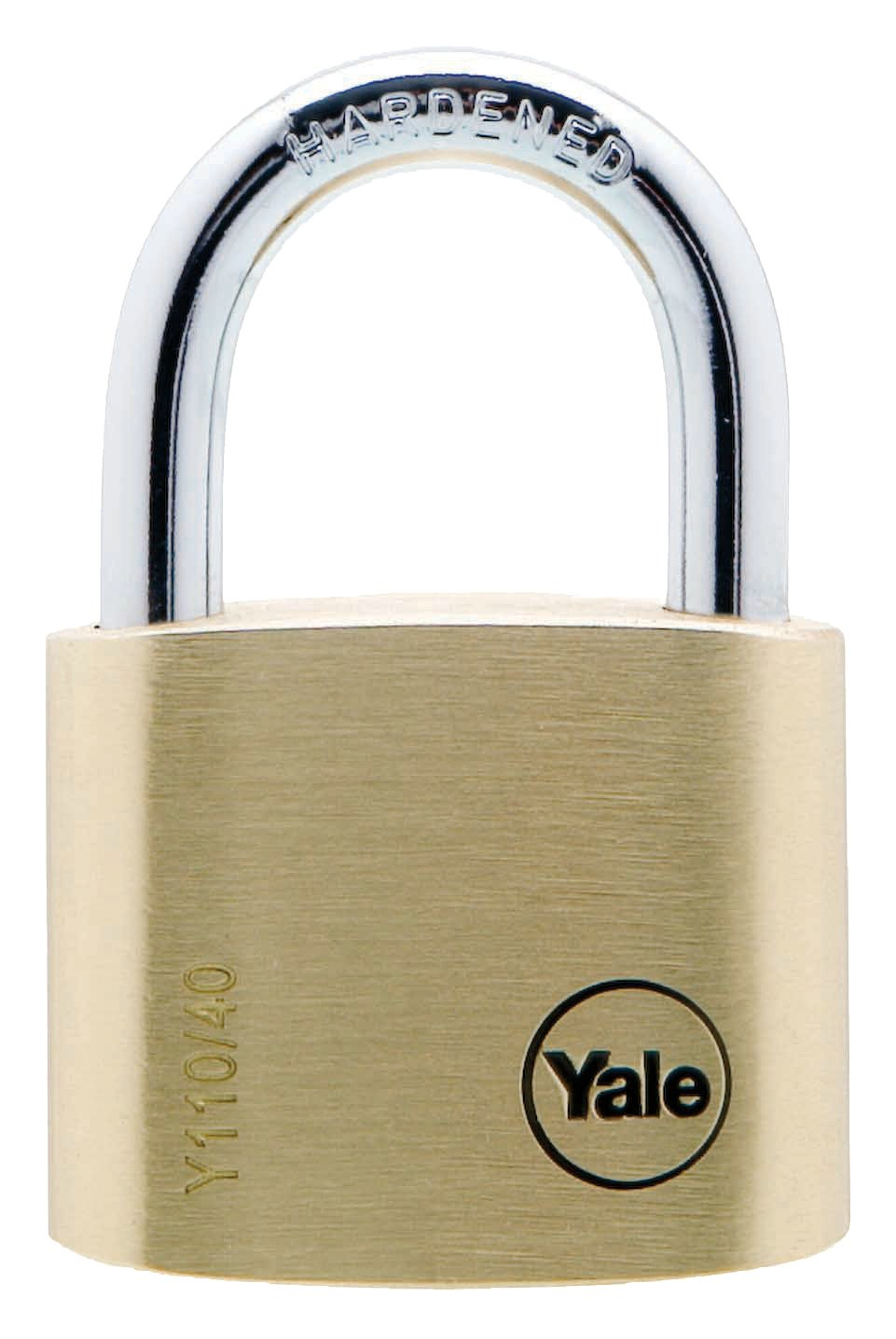 Y110/40/123 - Yale Classic Series Outdoor Solid Brass Padlock 40mm with Multi-pack