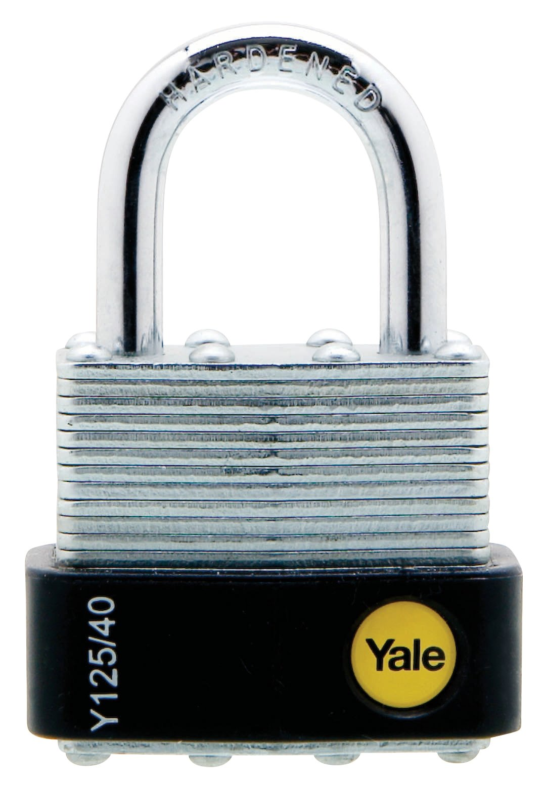 Y125/40/122 - Yale Classic Series Outdoor Laminated Steel Padlock 40mm with Multi-pack