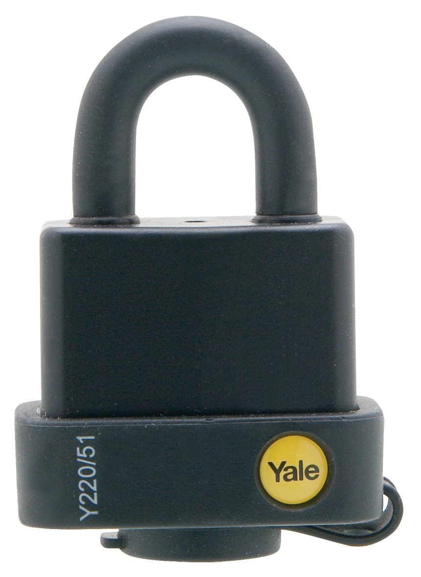 Y220/51/118 - Yale Classic Series Weather Resistant Laminated Steel Padlock 51mm with Multi-pack
