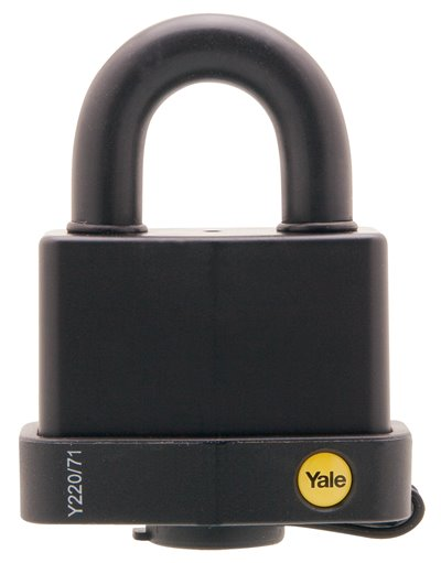 Y220/71/130 - Yale Classic Series Weather Resistant Laminated Steel Padlock 71mm