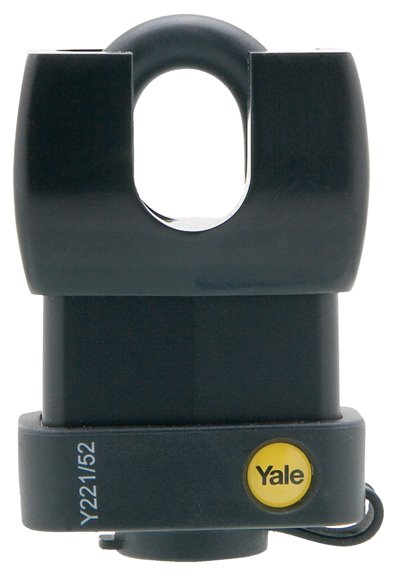 Y221/52/125 - Yale Classic Series Weather Resistant Laminated Steel Closed Shackle Padlock 52mm