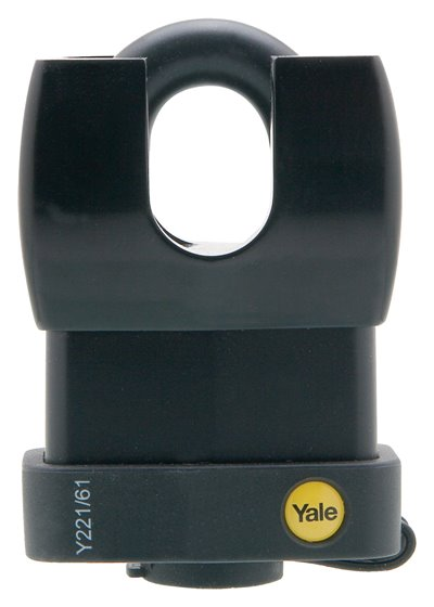 Y221/61/130 - Yale Classic Series Weather Resistant Laminated Steel Closed Shackle Padlock 61mm