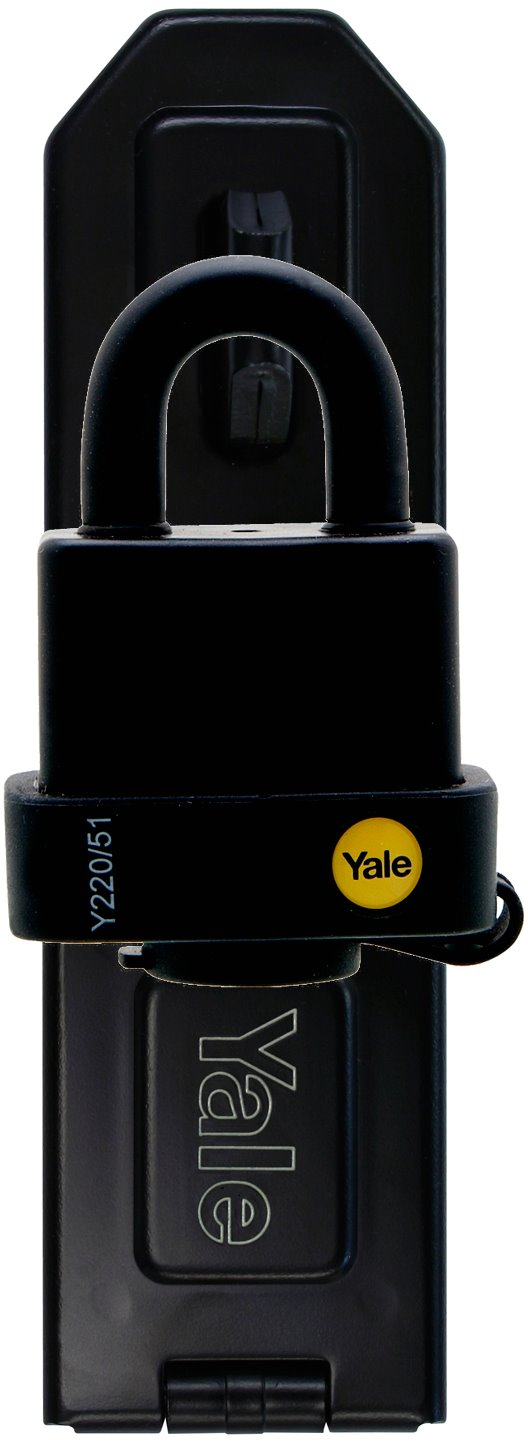 suitable for outdoor 40mm Yale Y110//40//123//HSP Hasp and Brass Padlock