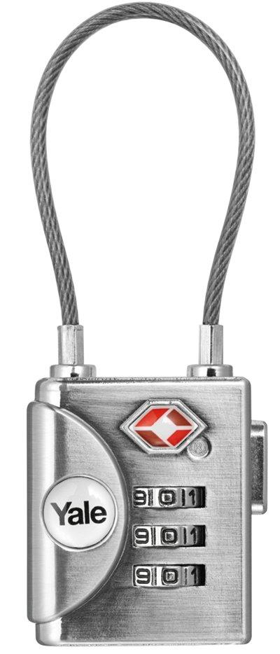 YTP3/32/350 - Yale Cable Luggage TSA Combination Lock