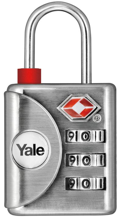 YTP1/32/119 - Yale Inspection indicator Luggage TSA Combination Lock