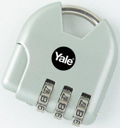 Y-NOVELTY-4 - Yale Novelty Lock Range Active Style Luggage 3 Digit Combination Lock