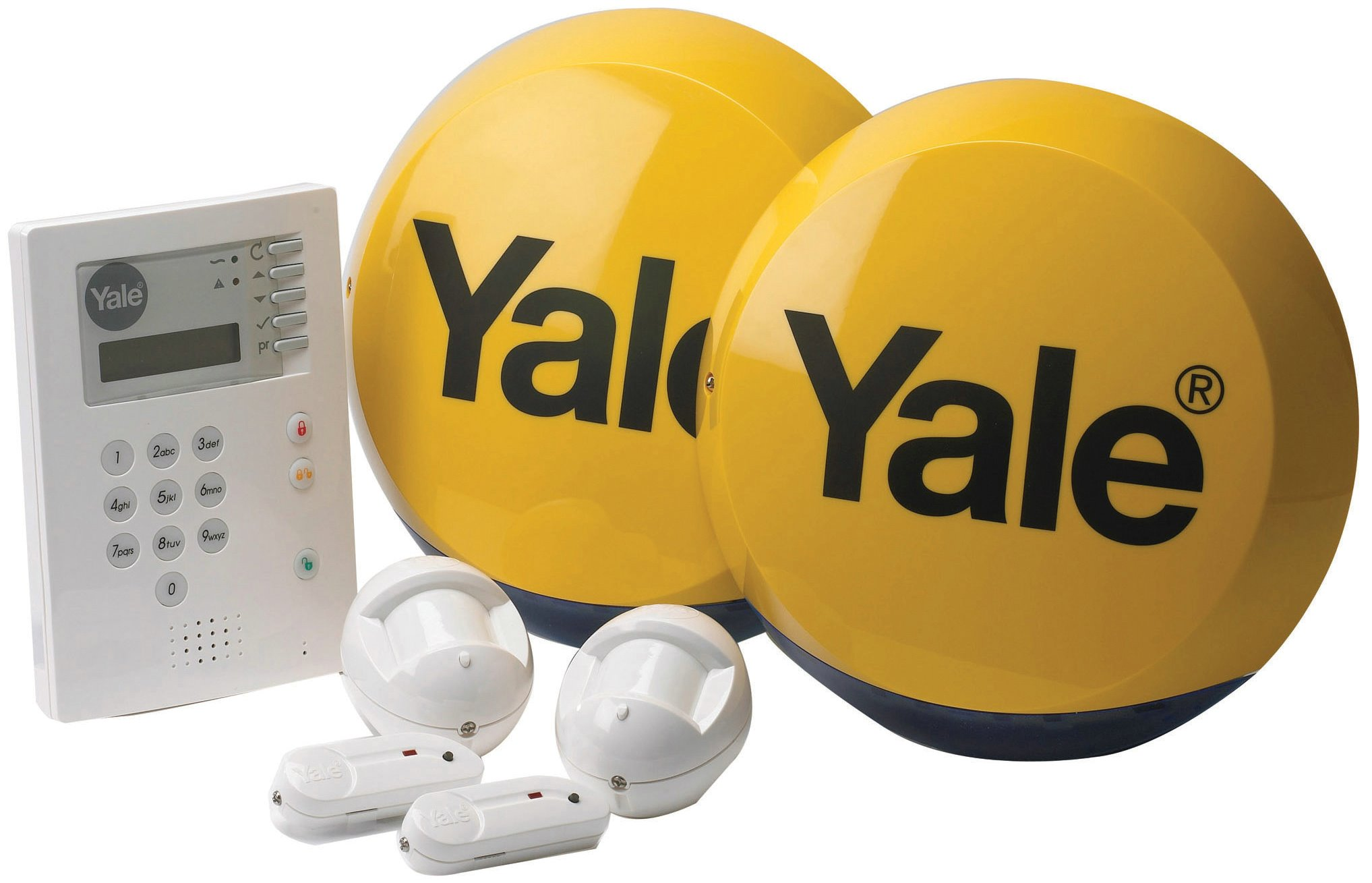 B-HSA6300 - Yale Family Series Home Security Alarm System