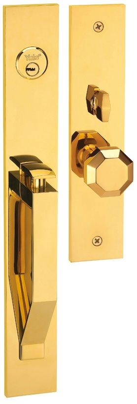 M8773 D2 - Yale M8700 series Elegance Style Entrance Door Handle Set D2