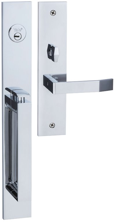 M8773 D3 - Yale M8700 series Elegance Style Entrance Door Handle Set D3