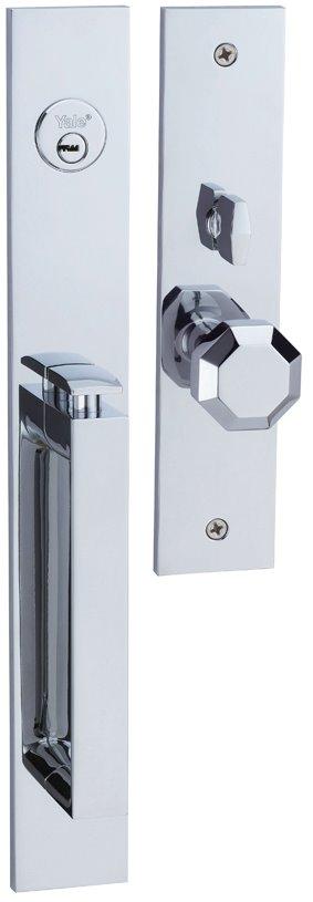 M8773 D4 - Yale M8700 series Elegance Style Entrance Door Handle Set D4