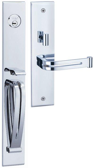 M8773 E1 - Yale M8700 series Elegance Style Entrance Door Handle Set E1