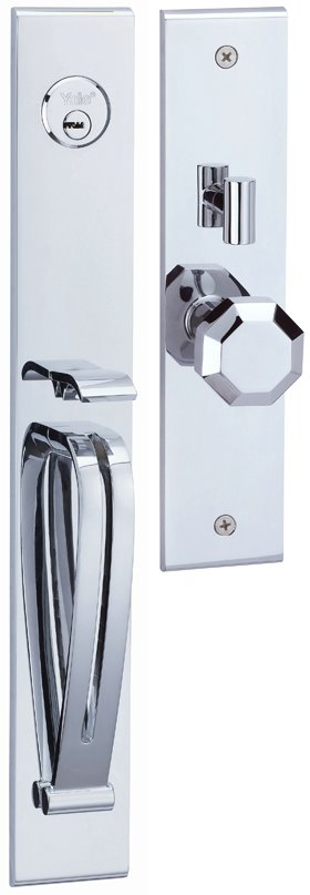 M8773 E2 - Yale M8700 series Elegance Style Entrance Door Handle Set E2