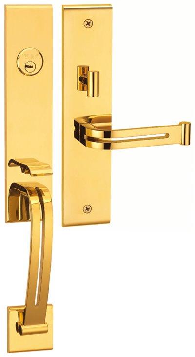 M8773 E5 - Yale M8700 series Elegance Style Entrance Door Handle Set E5