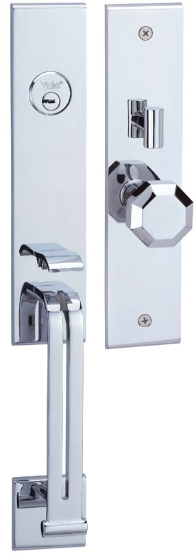 M8773 E8 - Yale M8700 series Elegance Style Entrance Door Handle Set E8