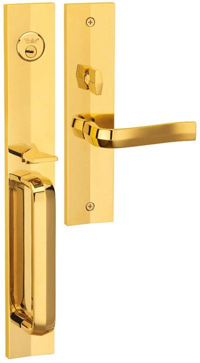 M8773 F3 - Yale M8700 series Elegance Style Entrance Door Handle Set F3