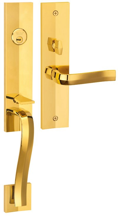 M8773 F5 - Yale M8700 series Elegance Style Entrance Door Handle Set F5