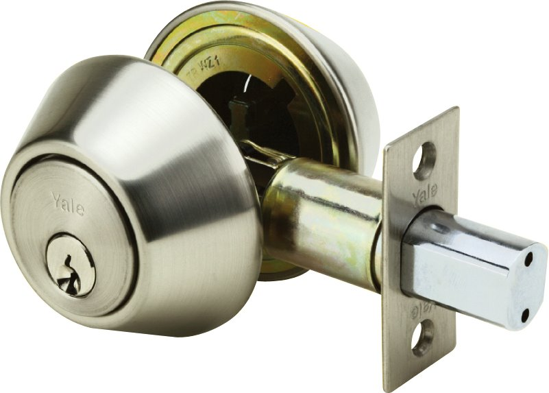8121 - Yale 8100 Series Standard Duty Deadbolt (Double Cylinder Deadbolt)