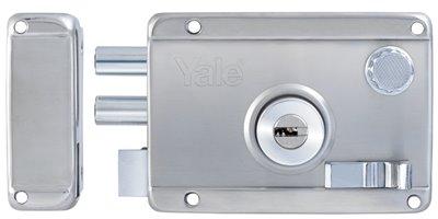 R5122 SS RH - Yale Stainless Steel Rim Lock 2