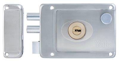 R5232 SS RH - Yale Stainless Steel Rim Lock 4
