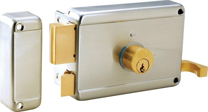Yale Italian Style Class Rim Lock (Double Cylinder)