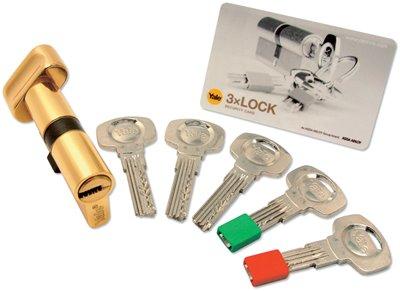 3XLOCK Multi Life Euro Profile Door Cylinders