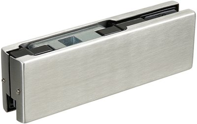 P022 - Top Glass Door Patch Fitting to suit / Transom Closer (side load)