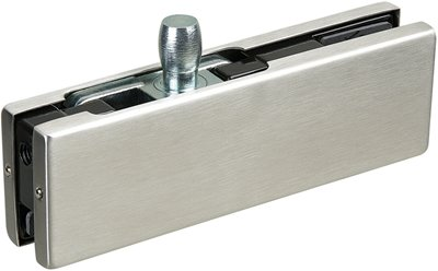 P030 - Top Glass Door Patch Fitting with 15mm pivot