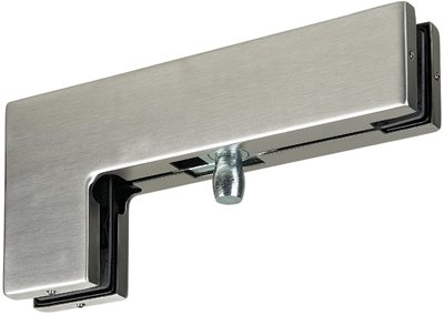 P040 - Top Glass Door Patch Fitting for over and side panel with 15mm pivot