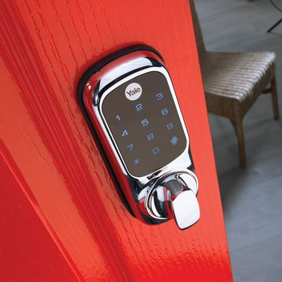 Keyless Digital Rim Lock