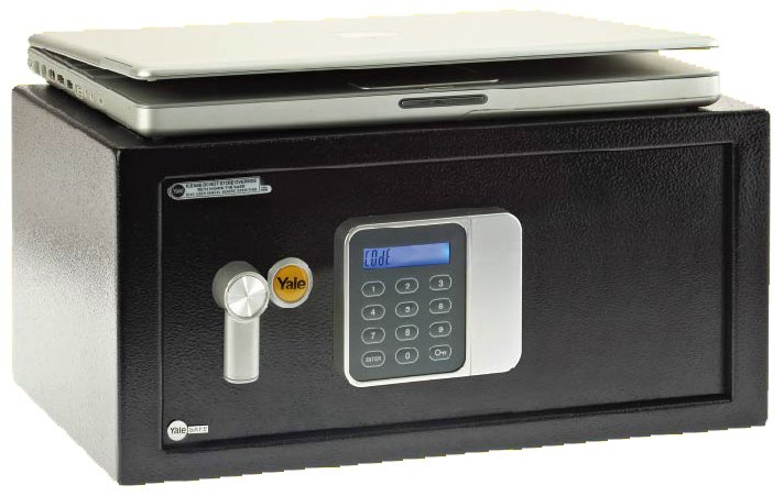 YLG/200/DB1 - Yale Guest Digital Safe Box Laptop