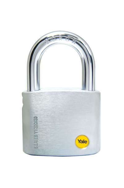 Y120D/60 - Yale Silver Series Dimple-Keyed padlock 60mm