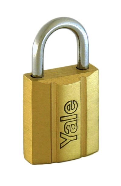 Y140/20 - Yale 140 Series Brass Padlock 20mm