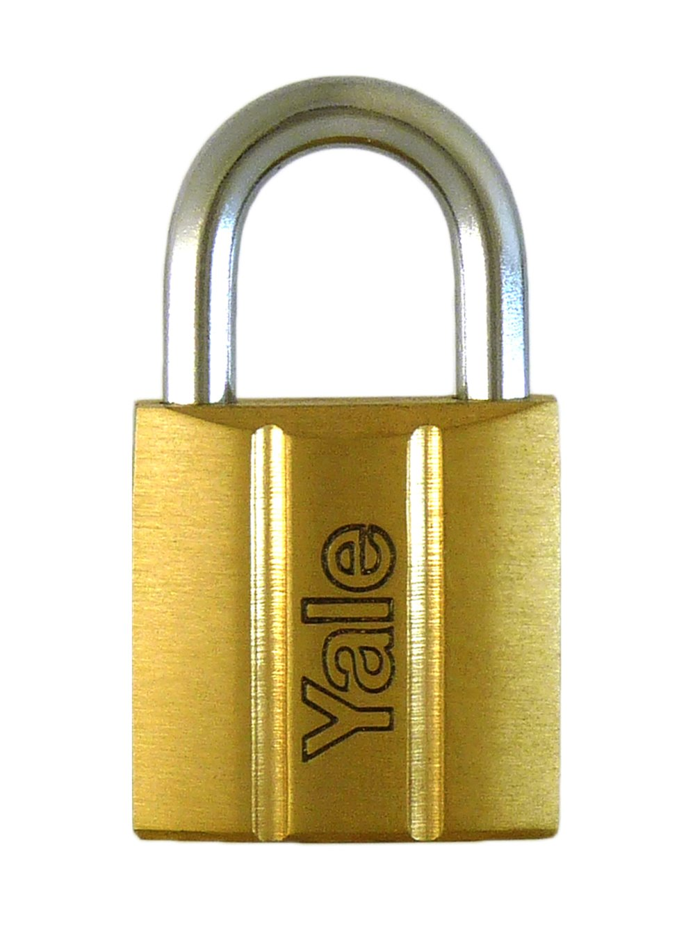 Y140/25 - Yale 140 Series Brass Padlock 25mm