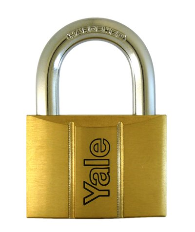 Y140/30 - Yale 140 Series Brass Padlock 30mm