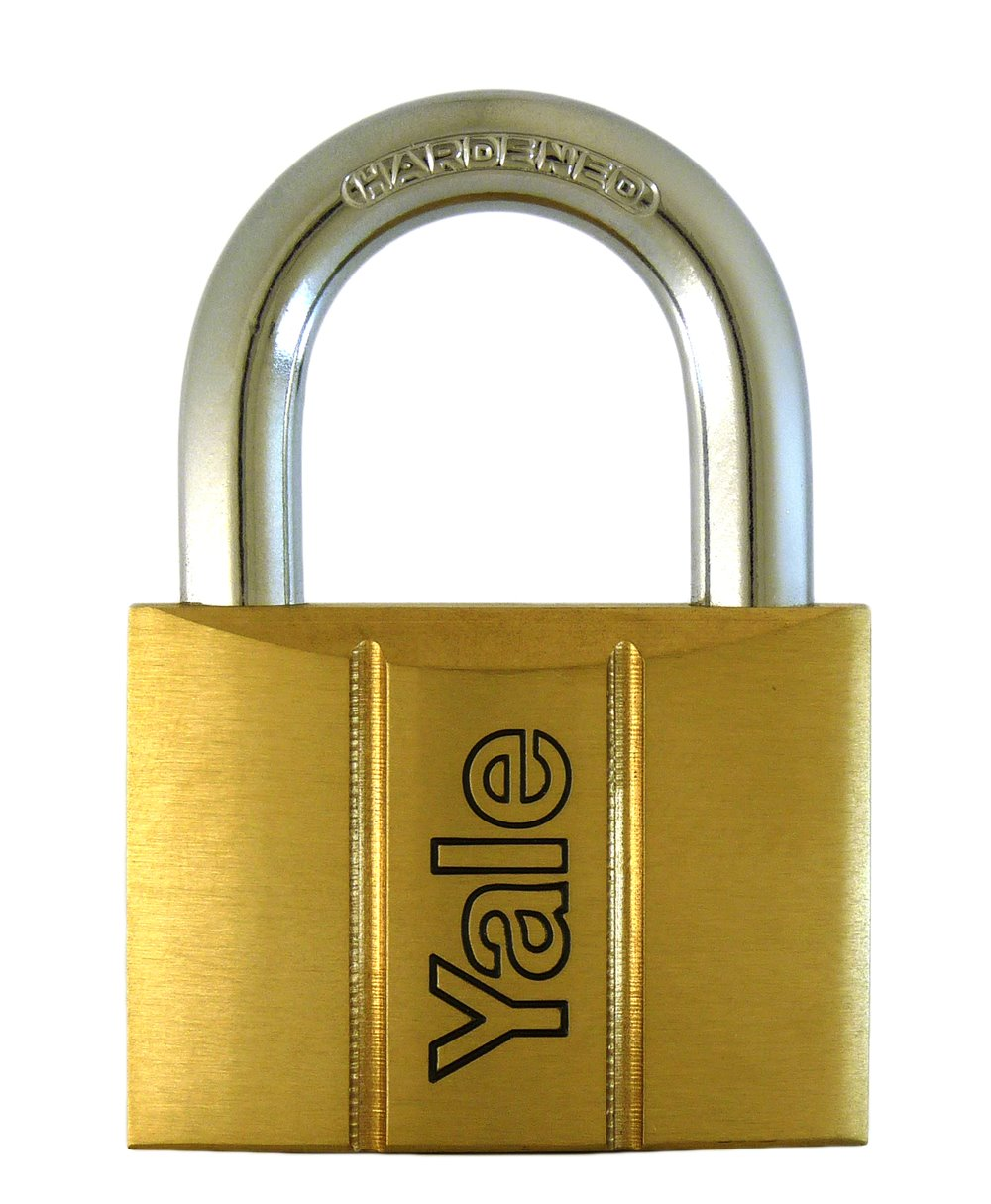 Y140/40 - Yale 140 Series Brass Padlock 40mm