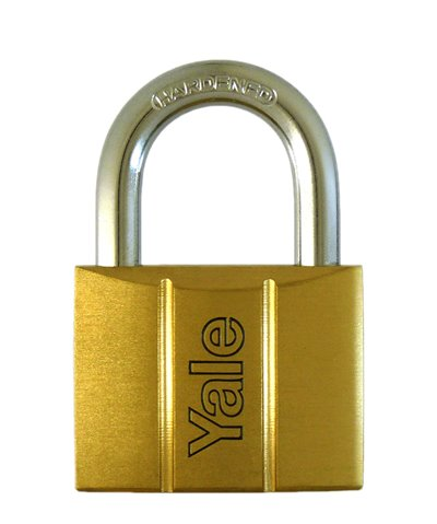 Y140/50 - Yale 140 Series Brass Padlock 50mm