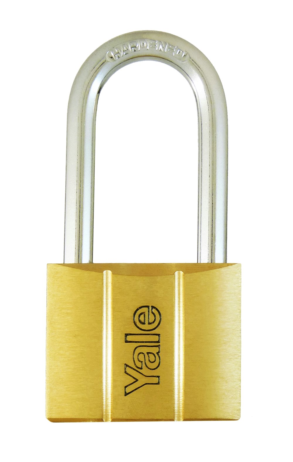 Y140/40LS - Yale 140 Series Long Shackle Brass Padlock 40mm