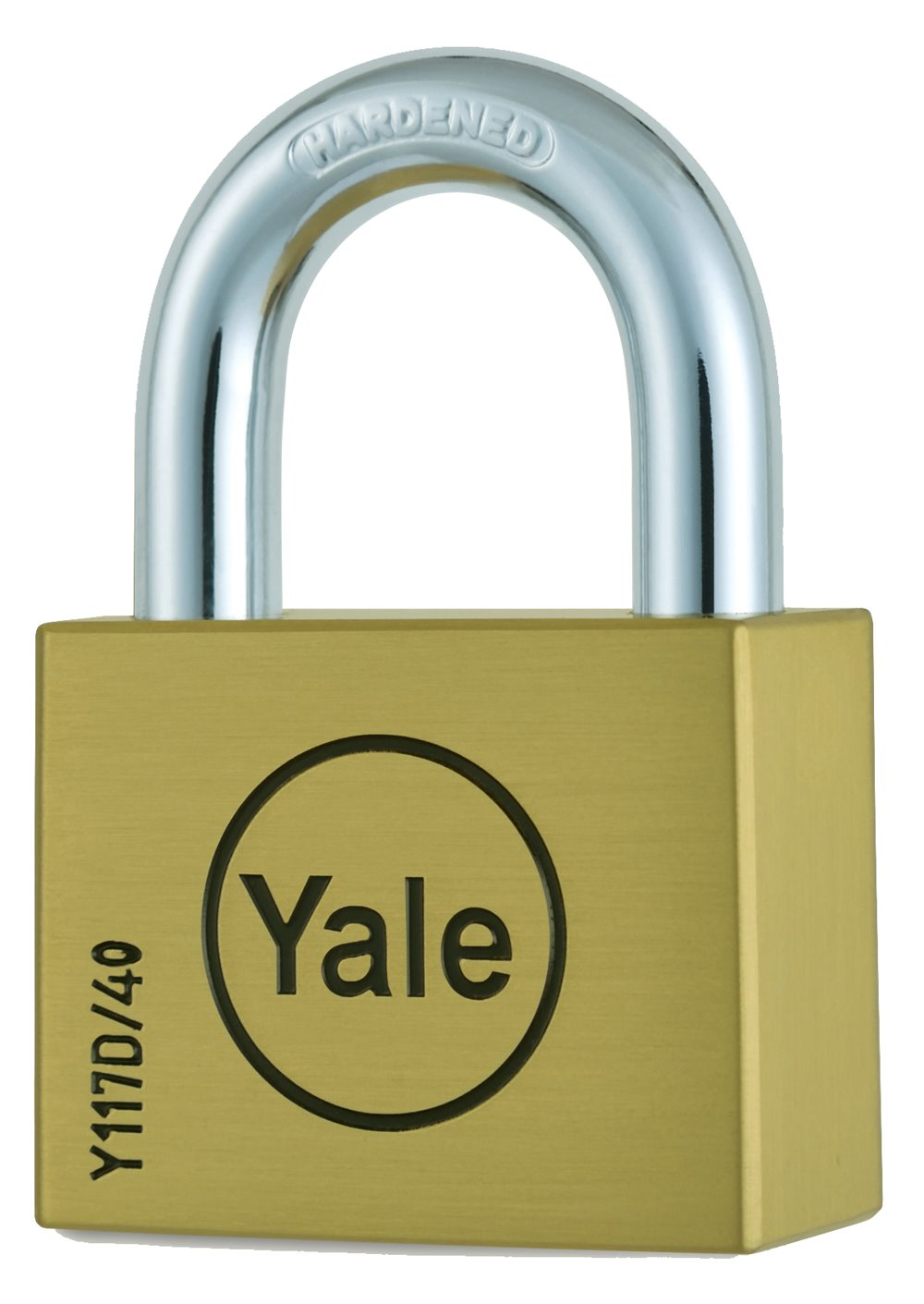 Y117D/40/121 - Yale Disc Padlock 40mm