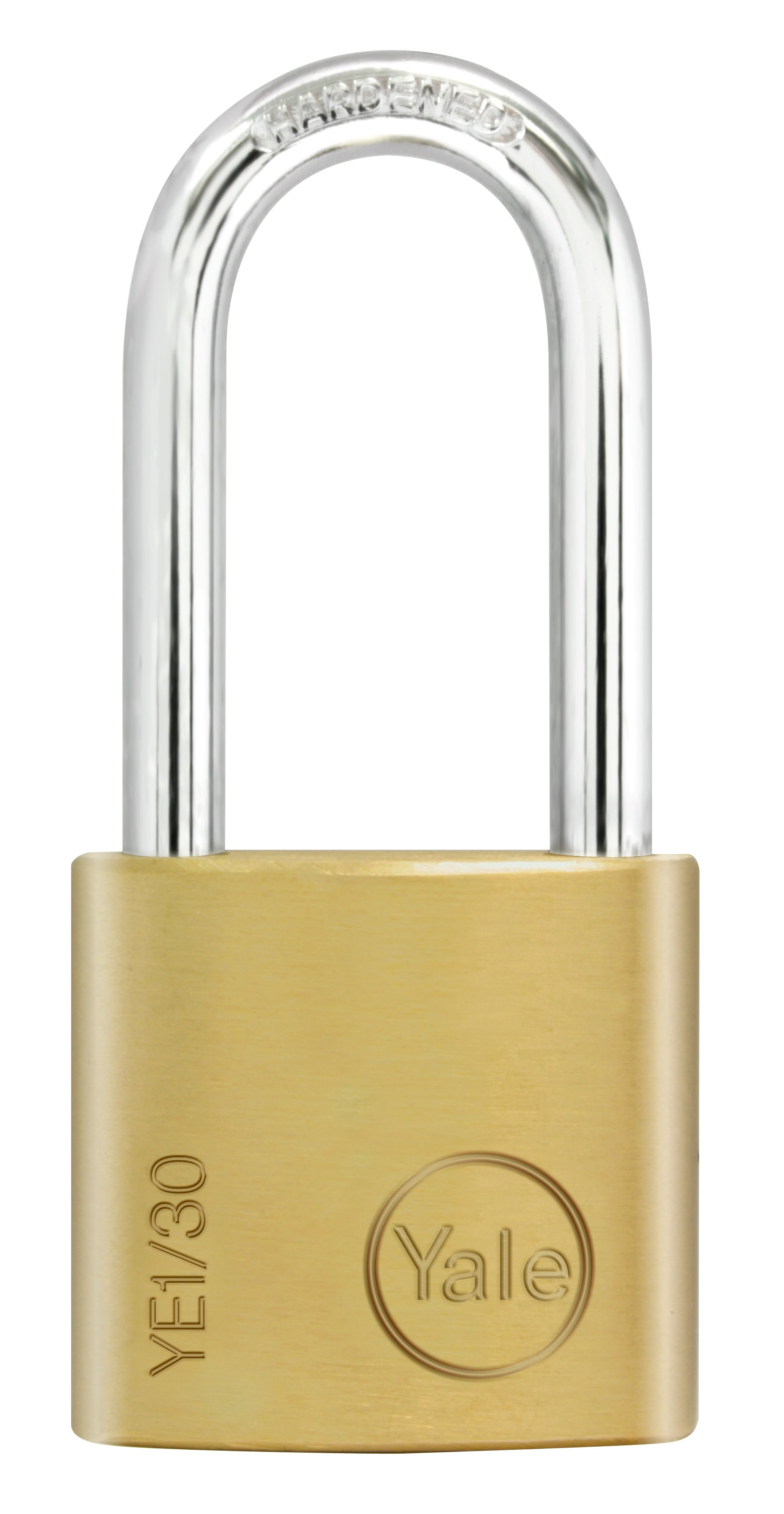 8be2f31b510c YE1 - Essential Padlock Long Shackle - Brass Padlocks - Smart locks ...