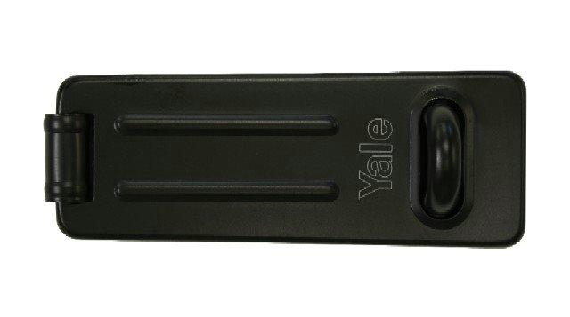 Yale Locks Y135 120mm Steel Hasp /& Staple Black Finish