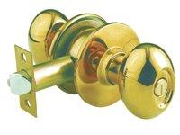 KN-VOV5227 US3 ลูกบิดหัวรูปไข่ ห้องทั่วไป 5227 ทองเหลืองแท้ขัดเงา