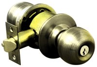 KN-VCA5127 US5  ลูกบิดหัวกลม ห้องทั่วไป 5127 ทองเหลืองรมดำ